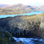 "Parque Nacional Torres del Paine, heisst so viel wie ""Blaue Türme"""