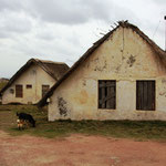 Die typischen Häuschen in Punta del Diablo