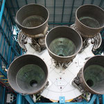 John F. Kennedy Space Center, Apollo / Saturn V Center - Bild: Saturn V Rackete von der Apollo-Mission.