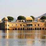 Wasserschloss bei Jaipur