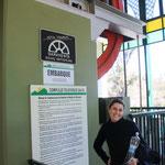 Mit einer schweizer Seilbahn gehts auf den Cerro San Bernardo, Salta