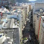 Blick von unsererem Hoteldach an der Copacabana