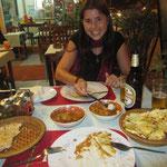 Abschluss mit einem sehr feinen Essen. Kleine Einstimmung auf unser Indien Abenteuer, welches bald mal folgen wird