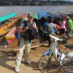Dabei mussten wir den Mekong überqueren