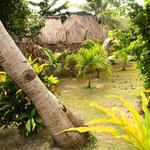 Bei einem Fidschi Dörfchen