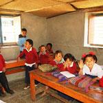Einblick in eine kleine Schule