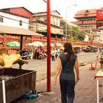 ... durch die Strassen Phnom Penh's