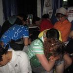 13 Stunden so im Zug, wir hatten Holzklasse gebucht!!!