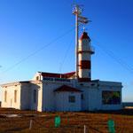 Leuchturm bei Punta Delgada