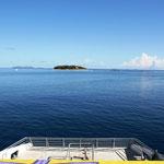 Unterwegs zur Yasawa Gruppe (fünf Stunden Bootfahren)