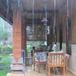 Regen in Ubud