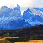Wow!!!!! Torres del Paine, die schönen blauen Türme, sind Granitfelsen, welche mehr als 2000 Meter hoch sind
