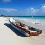 Strand von Tulum. Wow, Karibik pur!