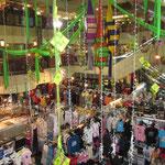 Eines der vielen Shoppingcenter in KL