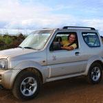 Unser Auto für unsere Entdeckungstour