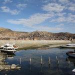 Am Hafen bei Puno