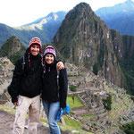 Juhuuuuu, wir sind da, Machu Picchu
