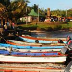 Kleiner Hafen in Hanga Roa