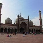 Jamia Masjid, die grösste Moschee in Indien