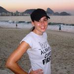 Am Abend an der Copacabana