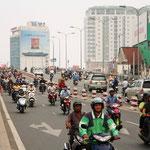 Verkehr ohne Ende auch in HCMS