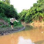 Pampas del Yacuma - Piranhas fischen