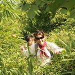 durch den Dschungel Laos