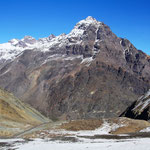 Mit spektakulärer Sicht auf die Anden