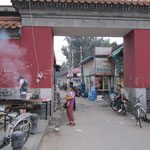 Eingang zu einem Hutong