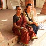Diese Inder wollten unbedingt ein Foto mit Franziska!! :)