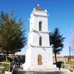 Kirche bei der Atacama Wüste