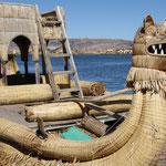 Ausflug zu den schwimmenden Inseln beim Titicaca-See