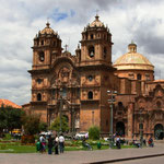 Cusco liegt auf einer Höhe von 3'300 Meter