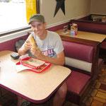... der letzte Ami Fast Food mit einem Phili