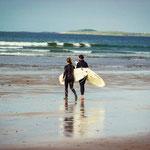 Surfen bei Sligo
