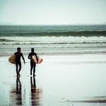 Einsame Surfstrände