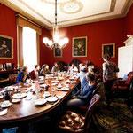 Irland Ernährung Ambiente im Saal