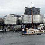 Das Erdöl Museum, die Region Stavanger sowie das ganze Land verdankt seinen Reichtum dem hier gefundenen Erdöl