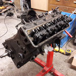 Der Motor lief top und hat sehr gute Kompressionswerte, wird aber vorsichtshalber zerlegt