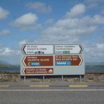 Und dann Richtung Valentia Island, wo wir vor 18 Jahren schon einmal waren