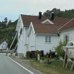Wenn das Haus Farbe braucht, muss der Verkehr warten :-))