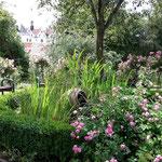 Dort hats nen wunderschönen Rosengarten