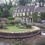 oder der Dorfgarten mit Teichanlage