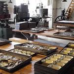 Eine alte Heringskonservenfabrik als Museum, vollständig erhalten