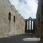 Das hier ist die Ardfert Cathedral, ein beeindruckender Bau....