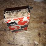 Es haben sich New old Stock Pleuellager eingefunden, von GLACIER in bester damals erhältlicher Qualität