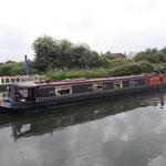 Wir fahren Richtung dem Fluss Severn an die Cotswolds Channels, einmal Narrowboat fahren!