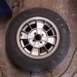 Die für den Spitfire extrem seltenen RONAL Räder werden neu gepulvert