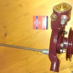 Das Wasserpumpengehäuse ist auch fertig, wir benutzen ein Wahler 83° Thermostat mit dem wichtigen Entlüftungsventil und ein Edelstahlwasserrohr
