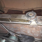 Der Kühler ist noch von einem MK1 und wurde im Werk am Stutzen des nicht mehr benötigten Ausgleichsbehälters zugelötet